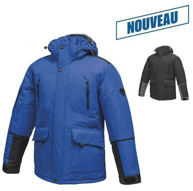 MISTY MOUNTAIN MANTEAU HOMME VORTEX ROYAL 2XL
