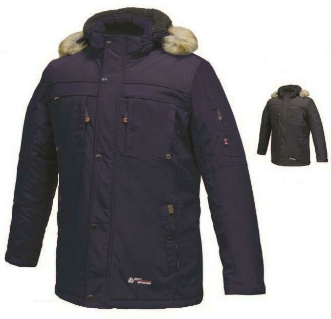 MISTY MOUNTAIN PARKA POUR HOMME STRIKER MARINE (XL)