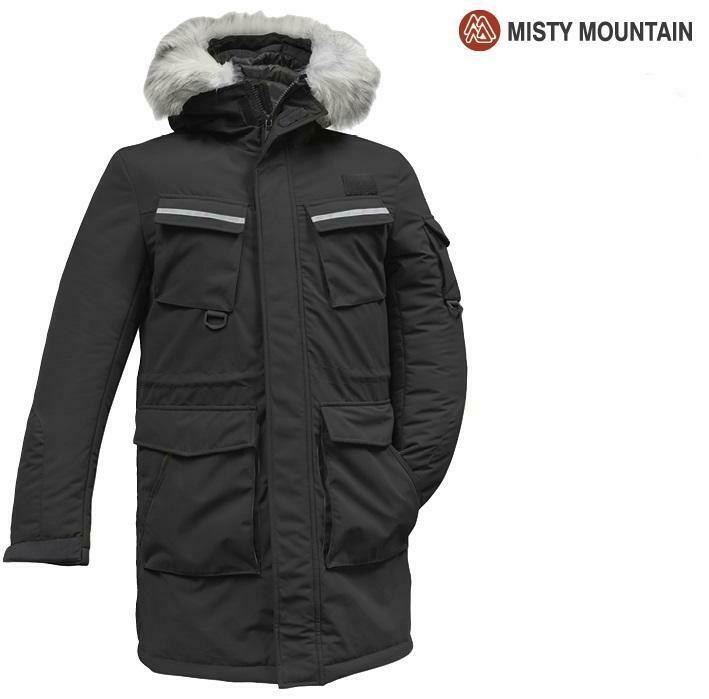 MISTY MOUNTAIN MANTEAU EXPEDITION NOIR (H) (S)