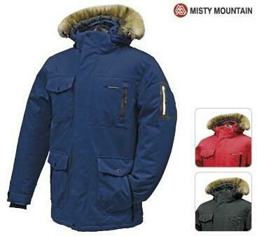 MISTY MOUNTAIN MANTEAU CRUISER ROUGE (H) (XL)