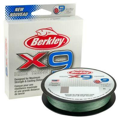 BERKLEY FIL TRESSE X9 20 LB 165YD VERT LOW VIS