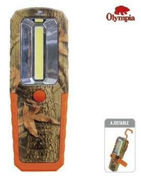 OLYMPIA LAMPE TOUT USAGE 20 LUMENS ORANGE/CAMO