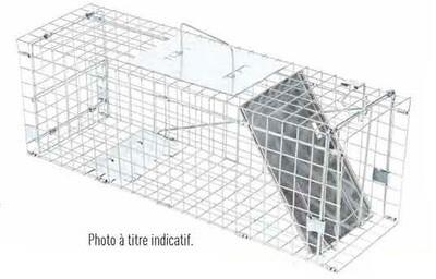 PRONATURE CAGE À CAPTURE ROBUSTE 10X12X32