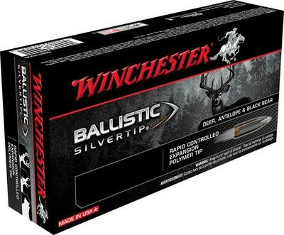 WINCHESTER BALISTIC SILVERTIP 300 WIN. MAG 180GR.(20)