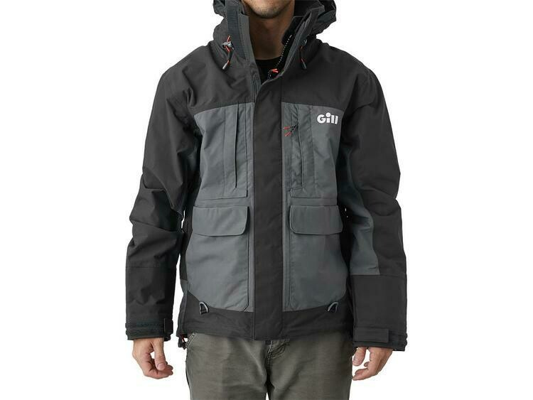 GILL TOURNAMENT MANTEAU IMPERMÉABLE GRAPHITE (M)