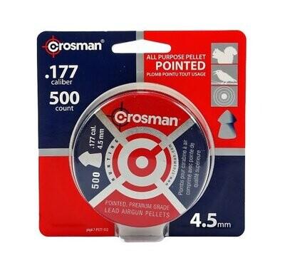 CROSMAN PLOMB .177 POINTU PQT.500