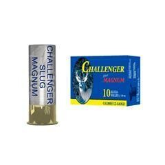 CHALLENGER SLUG MAGNUM 12GA, 2 3/4'', 1 1/8OZ, QTY:10