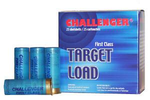 Challenger Cartouche 12 Ga. 2 3/4 Target Load 3 dr. Handicap # 9 10x25