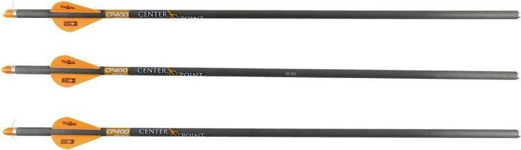 CENTER POINT FLECHES POUR ARBALETE CP400 SELECT QTY:3