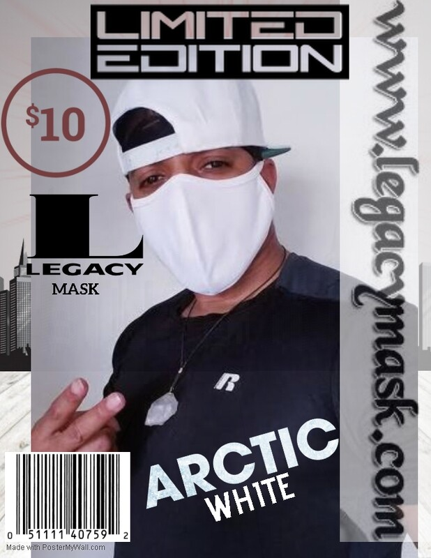 Legacy Mask Limited Edition Artic White