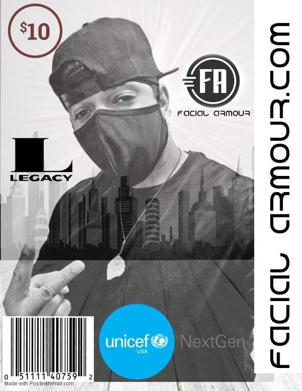 Facial Armour Legacy Mask (UNICEF USA Donation Edition)