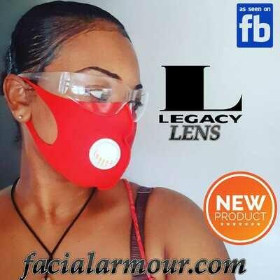 Facial Armour Legacy Lens (eye shield)