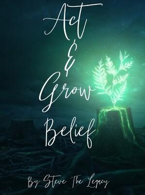 Act & Grow Belief Book