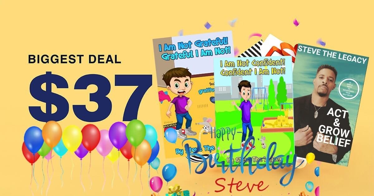 Steve's Birthday Bundle Deal