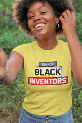 Support Black Inventor's Tee