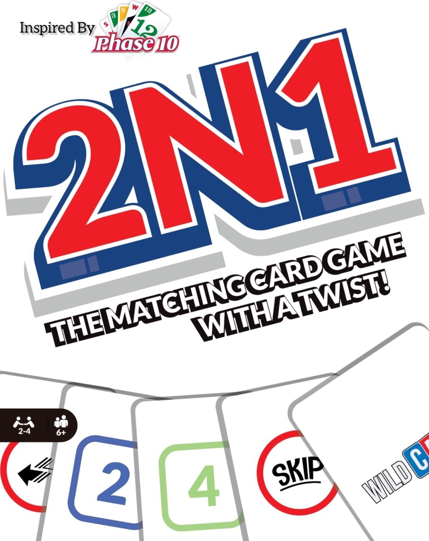 2N1 Card Game By Steve The Legacy