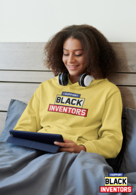 SUPPORT BLACK INVENTORS HOODIES