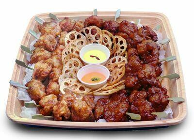 Karaage Chicken Platter