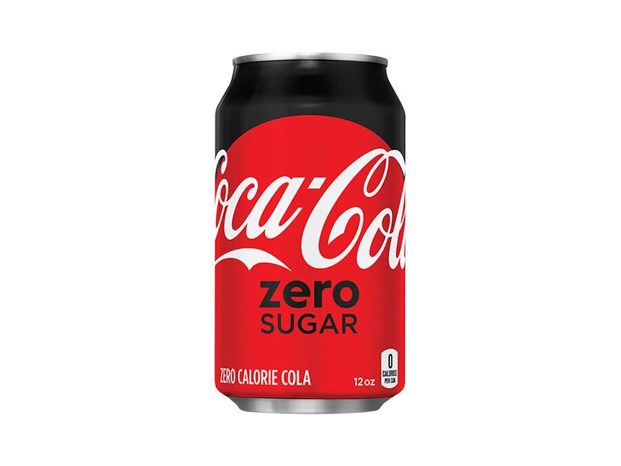 Coca-Cola No Sugar Coke 375mL
