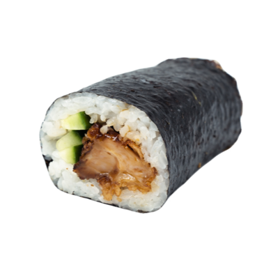 Teriyaki Chicken & Cucumber Roll