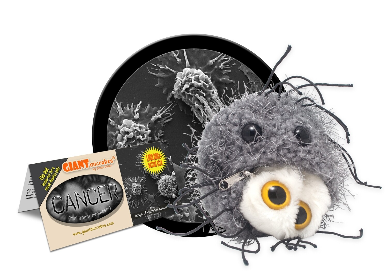 Giant Microbes Toy - Cancer