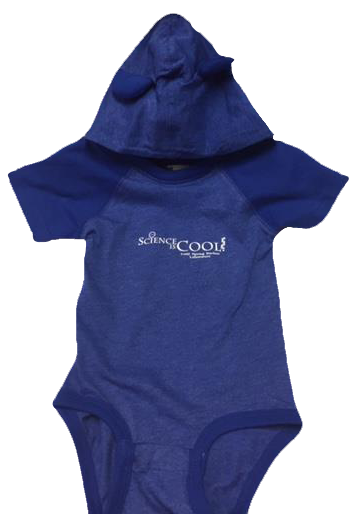 Child Onesie with Ears - Blue