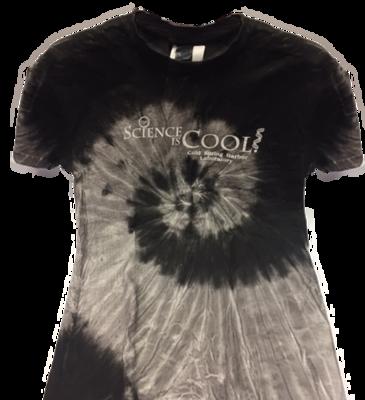 T-Shirt - Black Tie-Dye