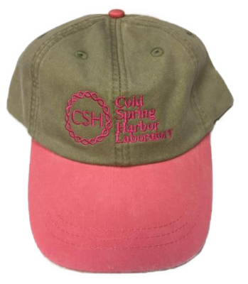 Baseball Caps Khaki/Coral