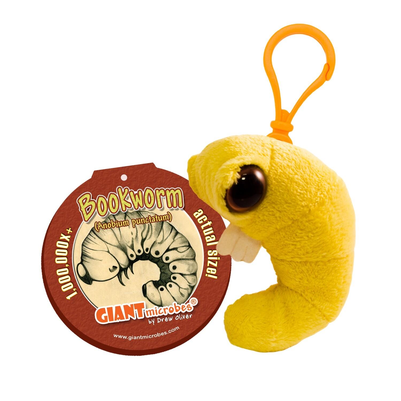 Giant Microbe KeyChain BK Worm