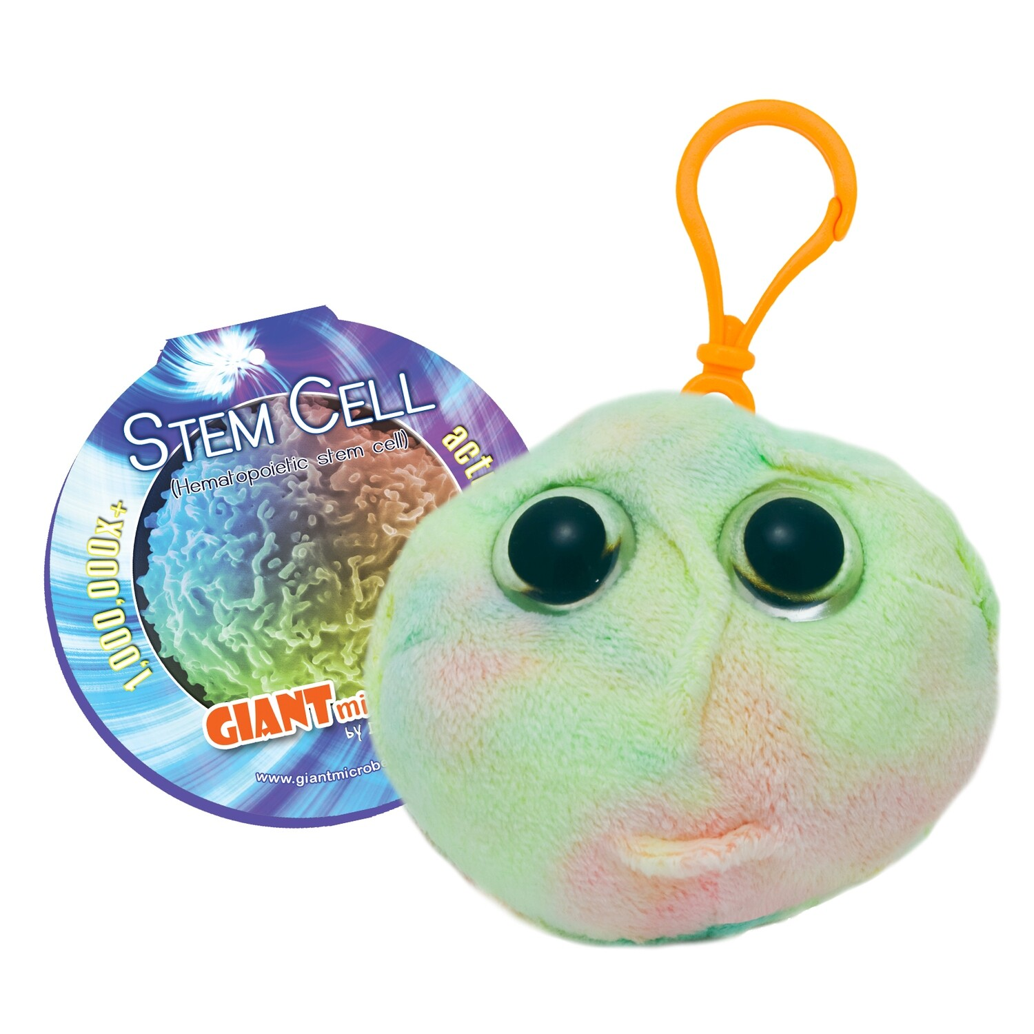 Giant Microbes KeyChain - Stem Cell