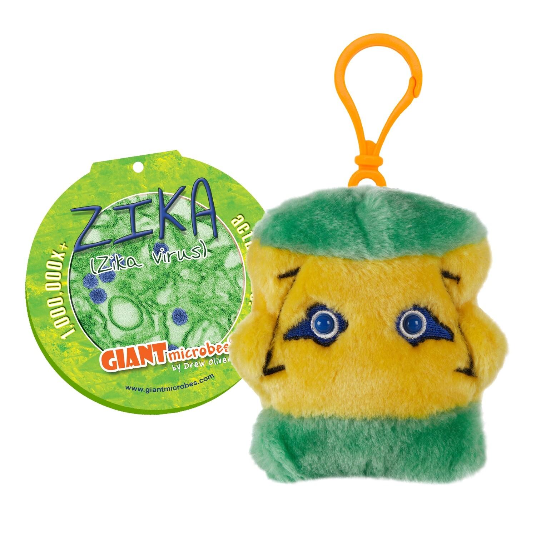 Giant Microbes KeyChain - Zika