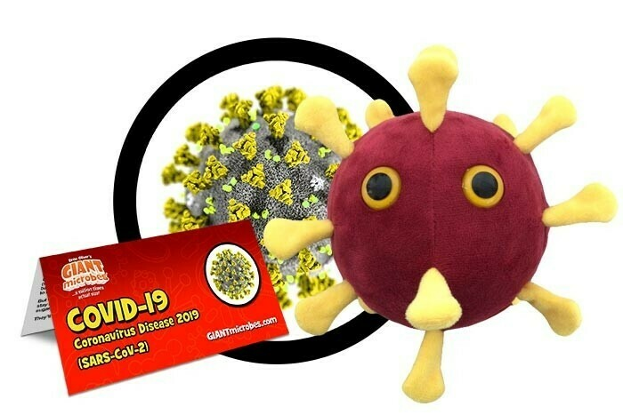 Giant Microbes Toy - COVID-19