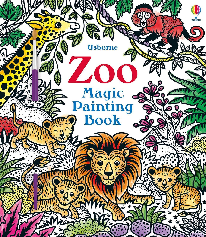 Magic Painting Zoo Book
