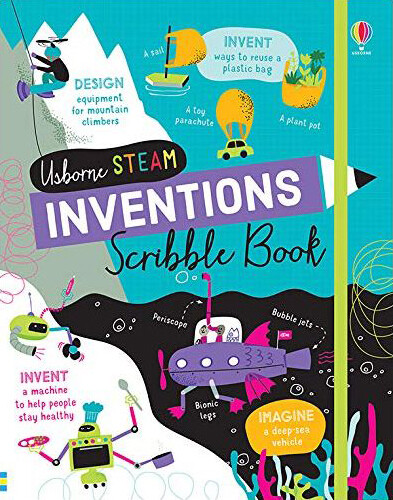 STEAM Scribble Book Inventions