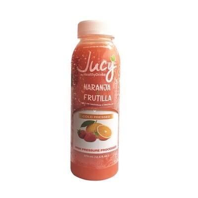 Jugo JUCY 370cc Naranja + Frutilla