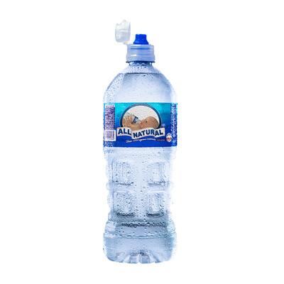Agua ALL NATURAL Botella 1 LT