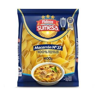 Fideos Sumesa pasta corta macarron 400g