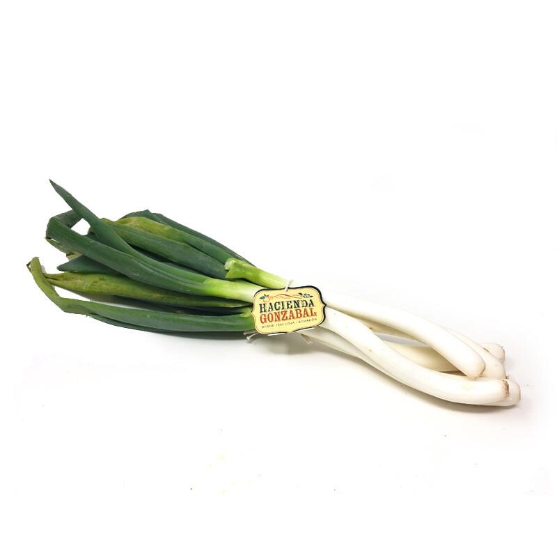 Cebolla blanca orgánica - atado 200g