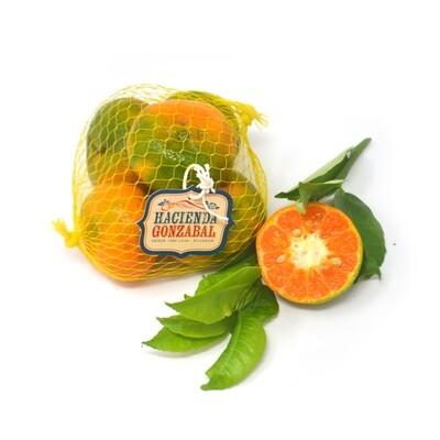 Mandarina orgánica - malla 6 unidades