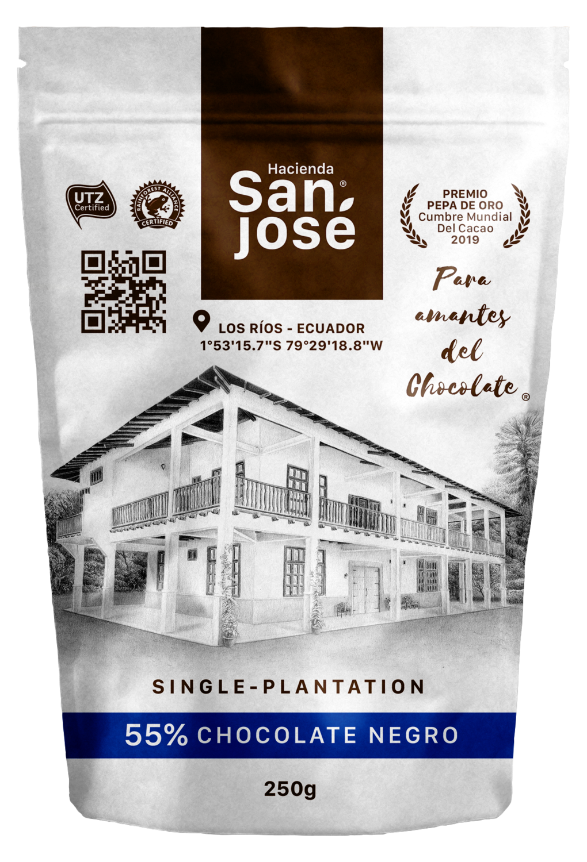 Funda Bites Chocolate Hacienda San Jose 55%