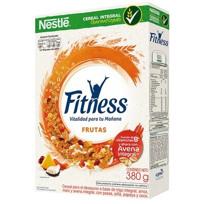 Cereal de Avena Integral FITNESS 380g / Almendras y Miel