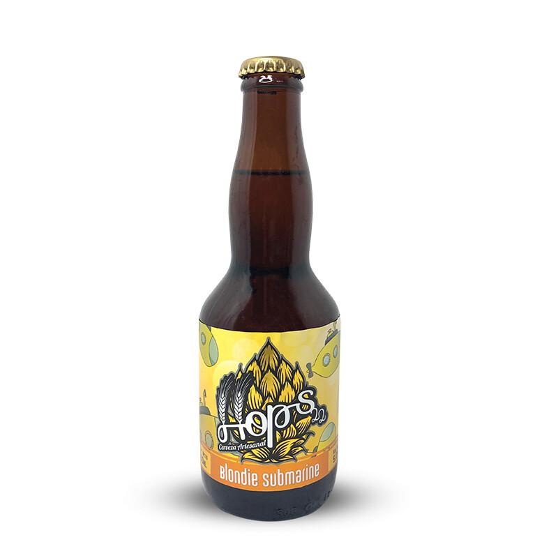 Cerveza Artesanal HOPS 22 / Blondie Submarine