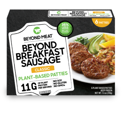 Beyond Breakfast Sausage / Carne Vegetal 210g