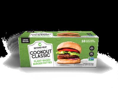 Beyond Cookout Burger / Carne Vegetal 113g          Caja x10 porciones