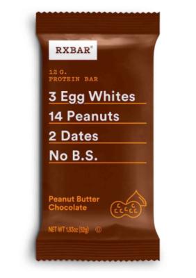 RXBAR Barra proteína 12g / chocolate + mantequilla de maní
