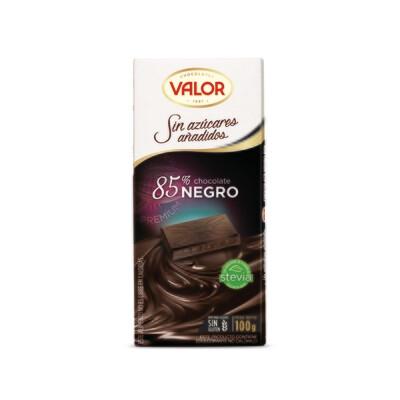 Chocolate 85% Cacao Sin Azúcar  / VALOR 100gr