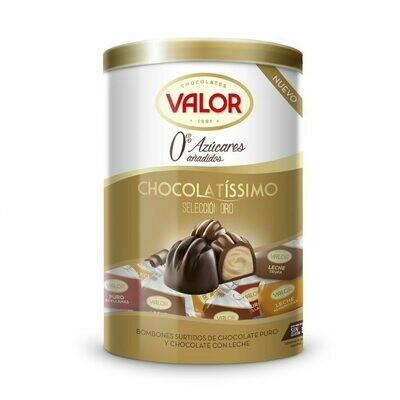 Chocolatíssimo Selección Oro bombones sin azúcar  200gr / VALOR
