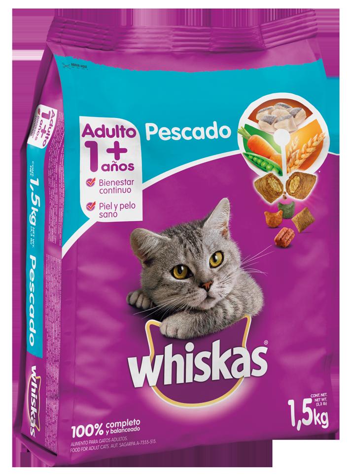 Wishkas Adulto - Pescado/ 1.5kg