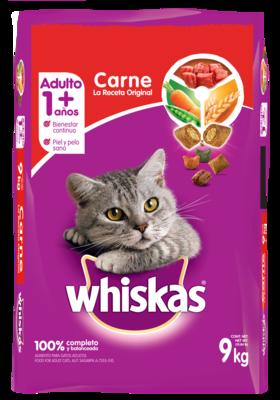 Wishkas Adulto - Carne/ 9kg