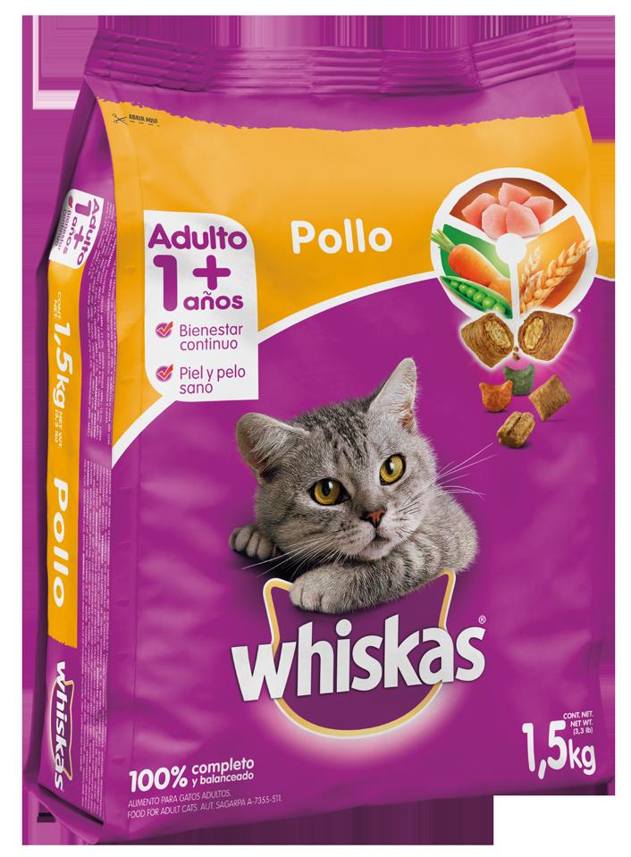 Wishkas Adulto - Pollo/ 1.5kg
